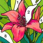 Coloring Book – Color by Number Paint by Number 1.6.0 MOD APK