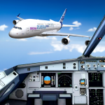 Extreme Airplane simulator 2019 Pilot Flight games 2.5 MOD APK