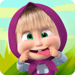 Masha and the Bear Child Games MOD APK