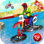 Beach Water Surfer Dirt Bike Xtreme Racing Games 1.0.5 MOD APK