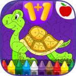 Kids Math Paint by Number Game 2 MOD APK