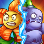 Zombie Defense – Plants War – Merge idle games 0.0.9 MOD APK