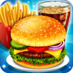 Fast Food Cooking and Restaurant Game MOD APK