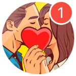 Kiss Me Spin the Bottle for Dating Chat Meet MOD APK