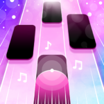 Magic Pink Tiles Piano Game 1.0.0 MOD APK