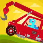 Dinosaur Rescue – Truck Games for kids Toddlers MOD APK
